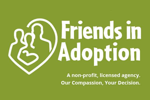 Friends in Adoption logo.